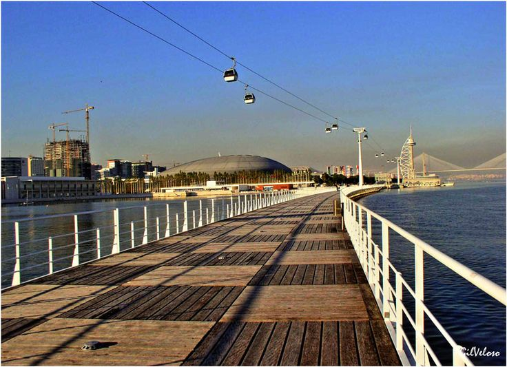 A good place to take a walk. Come to know this beautifull new area of Lisbon