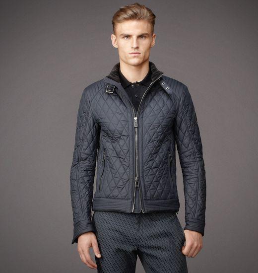 Jacket | Mens Lightweight Technical Quilt Bramley Jacket | Belstaff