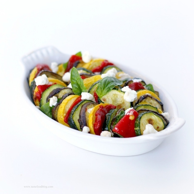 Ratatouille Gratin by Taste Food: Food Recipes, Vegetarian Food, Tasting Food, Ratatouil Gratin, Glorious Food, Veggies Tf, Goats Chee, Gratin Veggies, Ratatouille Gratin