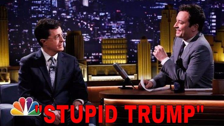 """Impeach Trump!"" Jimmy Fallon And Stephen Colbert Take Turns In ROASTING..."