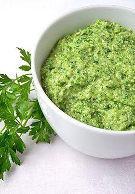 The Galley Gourmet: Broccoli Pesto