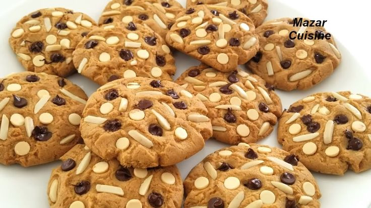 CHOCOLATE CHIP COOKIES RECIPE,EASY CHEWY CHOCOLATE CHIP COOKIE BY MAZAR ...