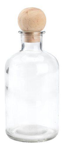 Fľaša KLAUDI Ø8xV19cm s vekom | JYSK