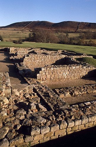 12 Must see places in the UK- Excavations at Vindolanda, along Hadrian's Wall, Northumberland, England