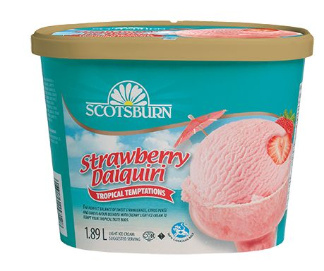 #scotsburn #icecream #tropical #strawberrydaiquiri