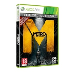 Metro Last Light Limited Edition Xbox 360. Pre Order Deal. Released May 17. $50 delivered! Deal ends May 11!