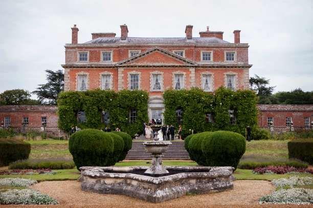 Country house wedding venue Trafalgar Park in Salisbury, Wiltshire.