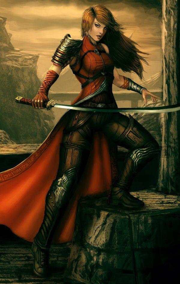 Image result for warrior art female