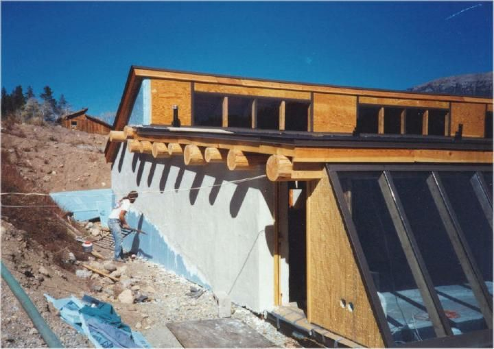 HTM's are passive solar, thermal mass, sustainable design, house plans featuring earthtubes, surface bonding, dry stack with concrete block (or poured-in-place). They are much more functional than any strawbale, papercrete, cob, or earth bag alternative method.
