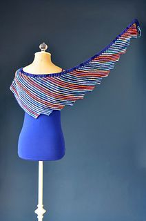 Serrato shawl FREE