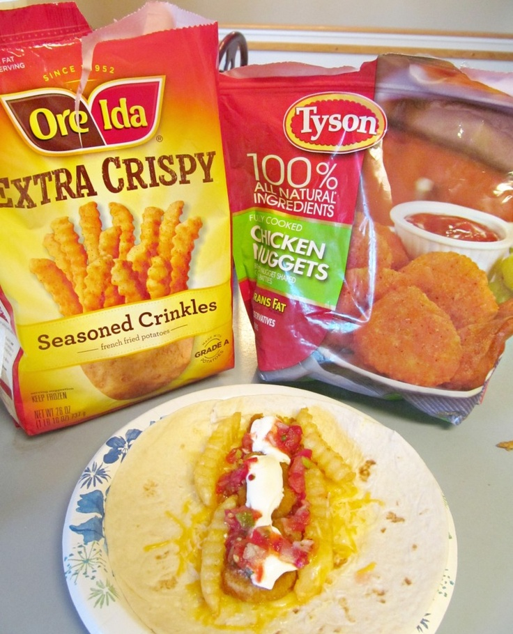 Delicious Chicken and Potato Burritos #DipDipHooray #cbias