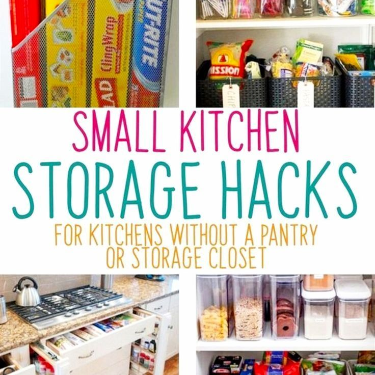 No Pantry How To Organize A Small Kitchen Without A Pantry Decluttering Your Life Pantry Redo Storage Solutions Diy Kitchen Without Pantry