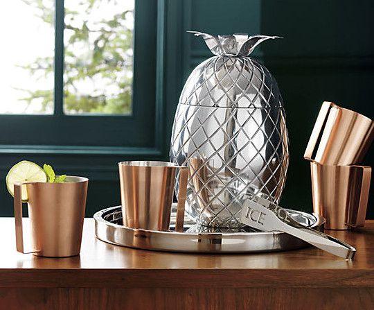 Fresh Find: Carmen Pineapple Ice Bucket - http://www.interiordesign2014.com/interior-design-ideas/fresh-find-carmen-pineapple-ice-bucket/