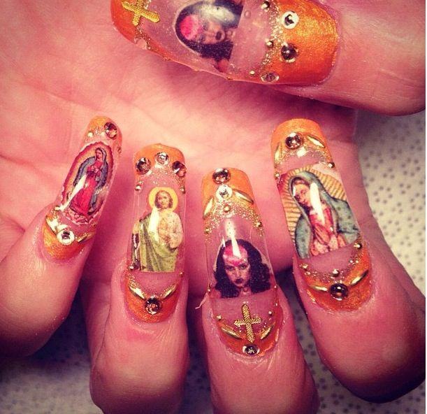 Brooke candy perfect nails, Nail art