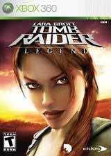 Lara Croft Tomb Raider Legend - Xbox 360 Game