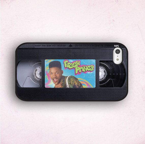 Hipster iPhone Case The Fresh Prince Cassette iPhone by CaseOddity, $15.99