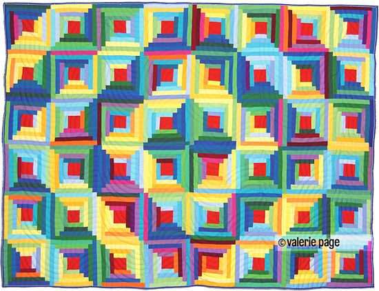 Rainbow Log Cabin QuiltQuilt Ideas, Pagequilt Com, Pagequilts Com, Logs Cabin Quilt, Beautiful Quilt, Log Cabin Quilts, Quilt Dreams, Quilt Textiles, Quilt Rainbows Colors
