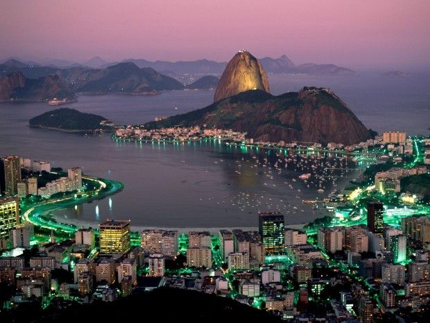 Rio De Janeiro at Night - 16 Incredible Places That Could be Found Around the World