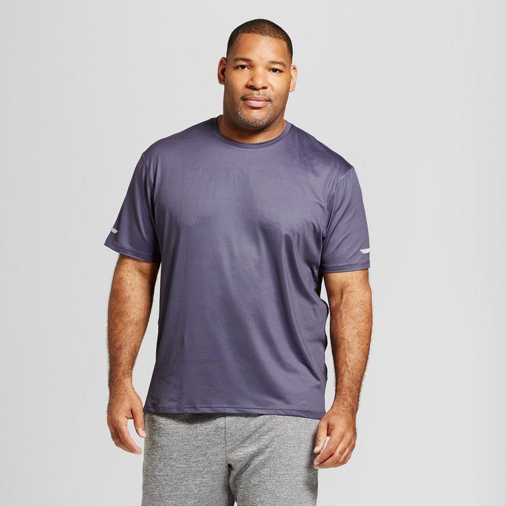 Men's Run Shirt - C9 Champion Dark Plum (Purple) 2XLT, Size: Xxlt