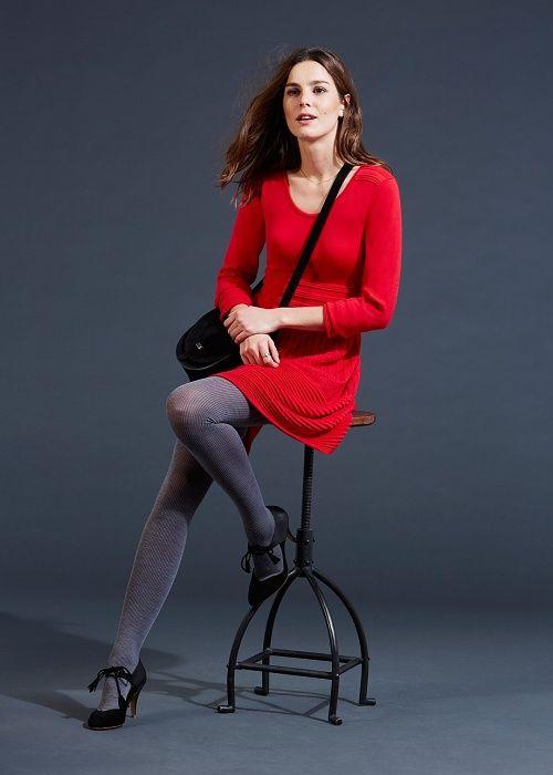 Robe Anka // Lookbook Capsule Plein Hiver Prêt-à-Porter - www.sezane.com  #sezane #robe #anka #lookbook #hiver