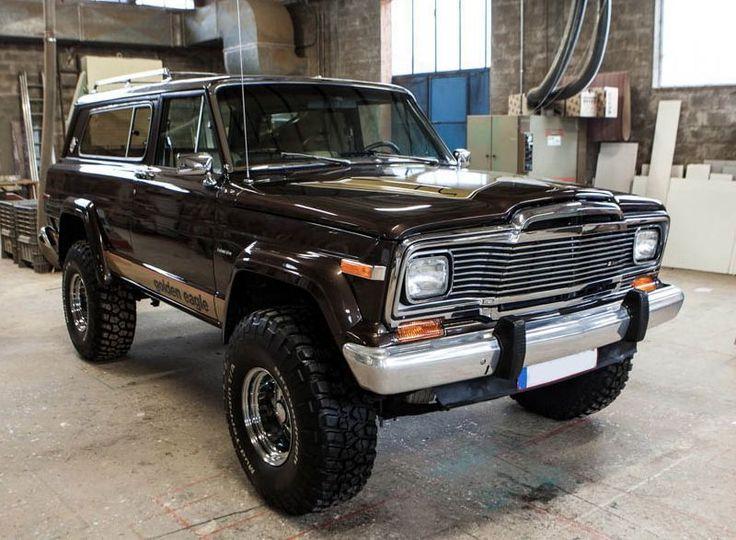 1979 Jeep Cherokee Golden Eagle | eBay                                                                                                                                                                                 More