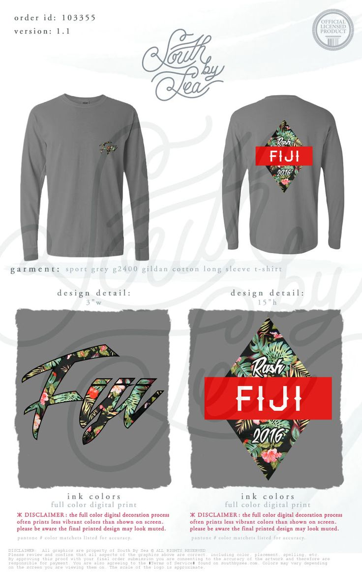 T shirt design richmond va - Phi Gamma Delta Fiji Tropical Rush T Shirt Design South By Sea