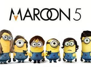Maroon 5 minions Adam levine on We Heart It. http://weheartit.com/entry/69817955/via/Bestiphone5caseshop