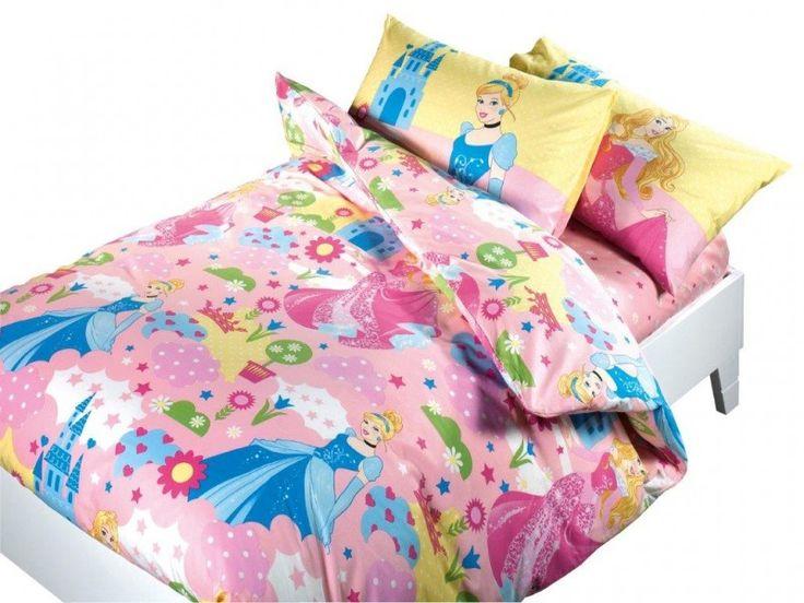Copripiumino Principesse Disney Letto Singolo Caleffi Aurora e Cenerentola Cameretta Bambina - TocTocShop.com - Fantastico per i Bambini, Imbattibile nei Prezzi