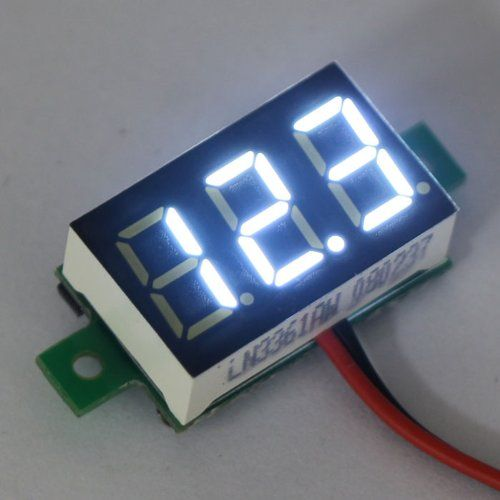17 best images about vape stuff marketing diy box mod white led 0 36 3 0~30v small voltmeter digital 18650 lithium