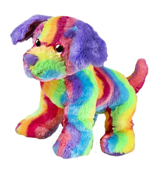 Max the rainbow puppy Stuff your own teddy bear kit from Teddy Bear Loft . Start planning your own teddy bear stuffing party today and we'll ship tomorrow!