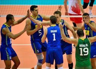 Blog Esportivo do Suíço: Brasil bate o Canadá e avança mais uma fase no Mundial de vôlei