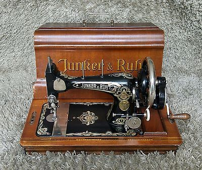 *** Sold *** | Junker & Ruh | Antique Sewing Machine | Karlsruhe Germany 1920 | Jugendstil | In Very Good Condition | 🔶 Buy it Now or Make an Offer! | Worldwide Shipping ✔ FREE Shipping to 25 Countries in Europe | ♦mad-mouse.com | 🐭 #MadMouseAntiques | #ebay #ebayshop #ebayseller #singer #nähmaschine #sewingmachine #sewing #handmade #diy #sewingpattern #macchinadacucire #machineàcoudre #maquinadecoser #interiors