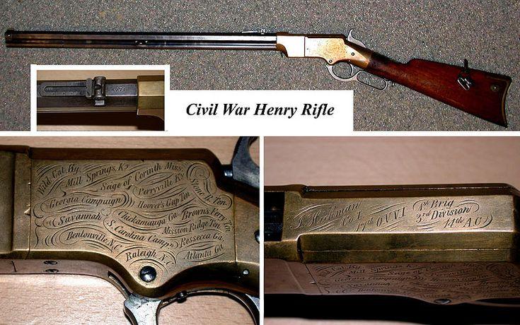 US Civil War Henry Rifle