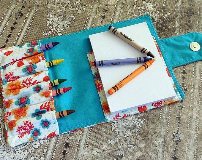 Tutorial Travel Art Folio Crayon Coloring Book Holder Kids Crafts Portfolio Instant Download Pattern Art Kits For Kids Travel Art Kit Art Kit