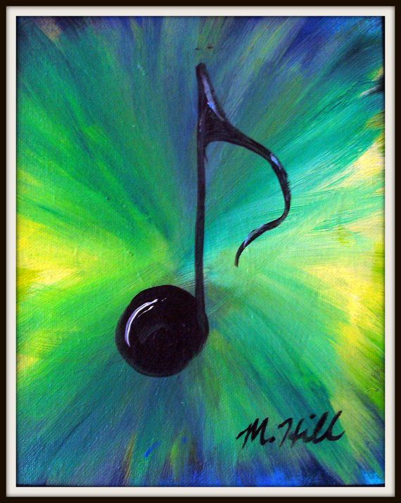Image result for music note paintings ideas