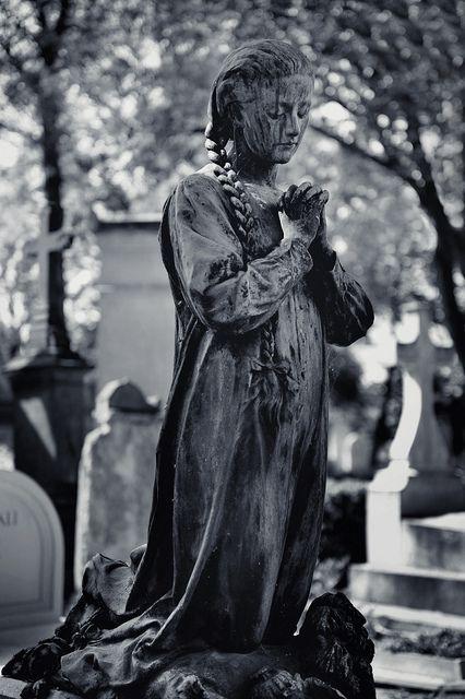 Always in Prayer....Pere Lachaise Cemetery, Paris, France