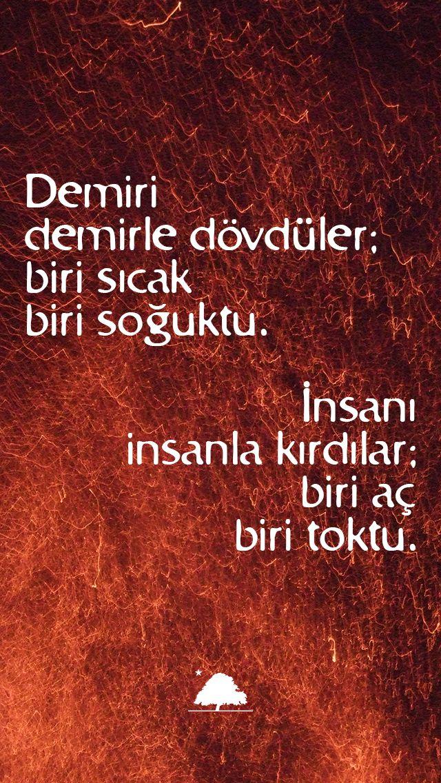 Demiri demirle dövdüler... Pir Sultan Abdal - Anadolu Çınarları mini poster