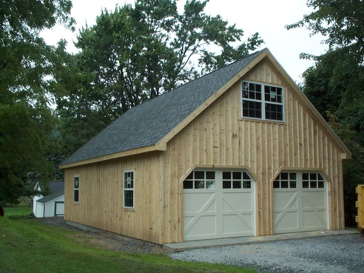 3 Car Garage Plans With Loft With Cedar Shake Siding