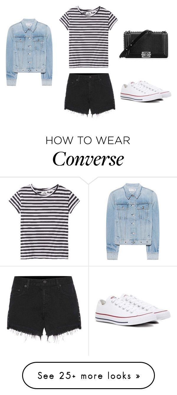 """""""New York"""" by theblondesandwich on Polyvore featuring rag & bone, Cheap Monday, Converse and Chanel"""