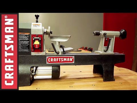 Wood Turning Basics: How To Use a Lathe | Craftsman - YouTube