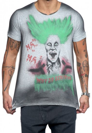 why so serious on grey