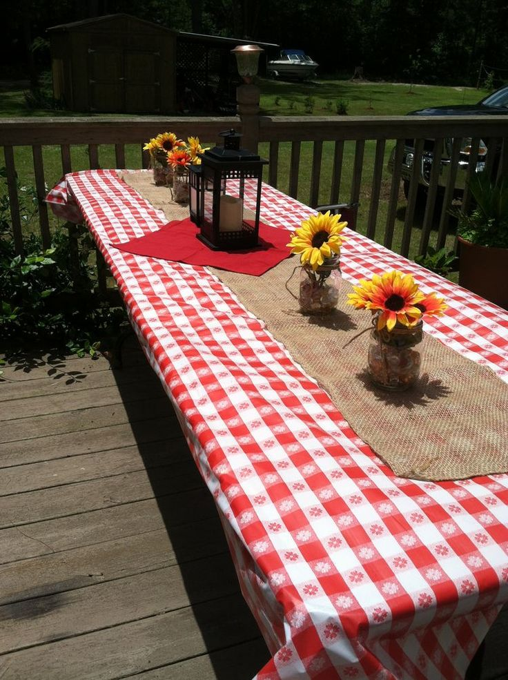 19 best images about old fashioned picnic on pinterest for Gingham decorating ideas