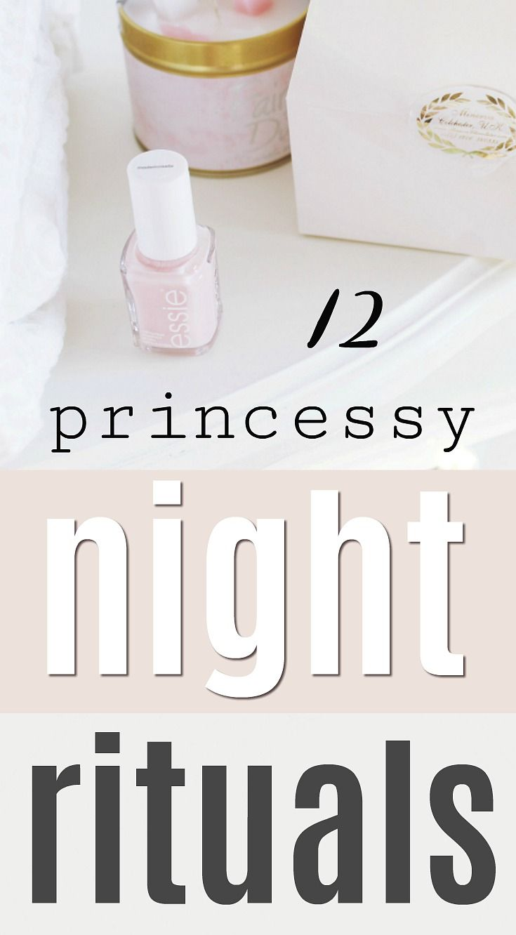 Girly pamper night routine, self care ideas – Journal