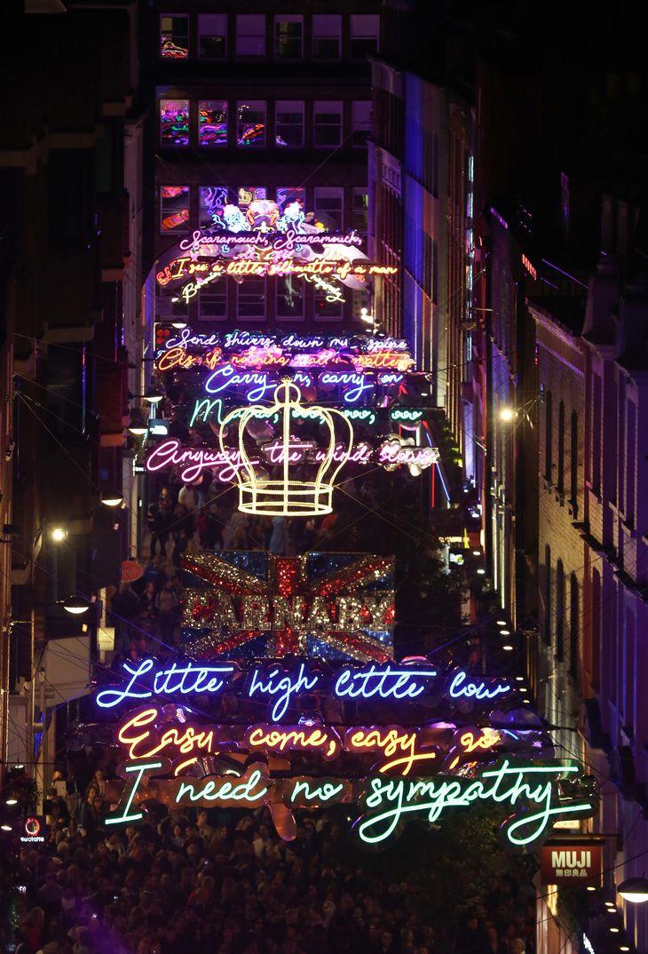 christmas lights london 2019 # 40