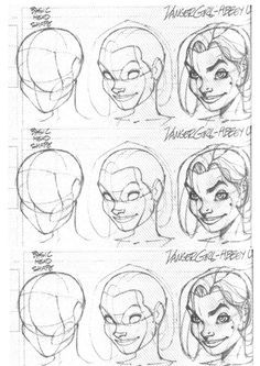 face proportions tutorial j scott campbell - Google Search