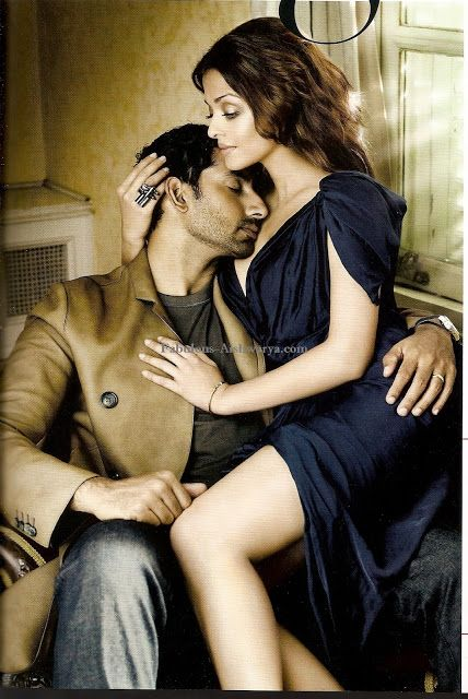 How sexy are these two: abhishek bachchan and aishwarya rai-VOGUE India