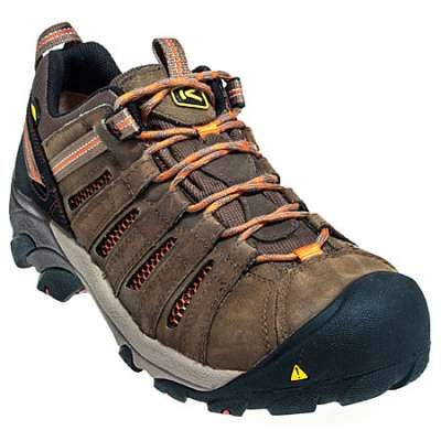 Keen Footwear: Men's 1007970 Steel Toe Brown Flint Low Hiker