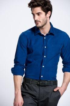 Casual Gömlek Mavi 1