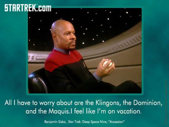 Avery Brooks - Capt. Benjamin Sisko, ST: Deep Space Nine