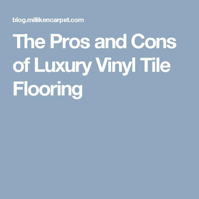 Best 20 vinyl tile flooring ideas on pinterest tile for Vinyl flooring for kitchens pros and cons